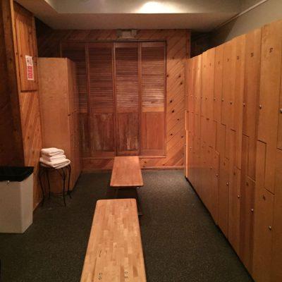 First Floor Locker Rooms